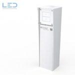 Energiesäule, Steckdosensäule ESocket 350-H, Hager Robusto NAP, Elektromaterial, EM, Winterhalter, Fenner AG WF