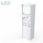 Energiesäule, Steckdosensäule ESocket 350-H, Hager Robusto NAP Apparate, Elektromaterial, EM, Winterhalter, Fenner AG WF