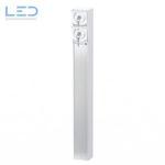 Steckdosensäule ESocket Hager Robusto NAP Apparate 2 x Schlüsselschalter, Elektromaterial, EM, Winterhalter, Fenner AG WF